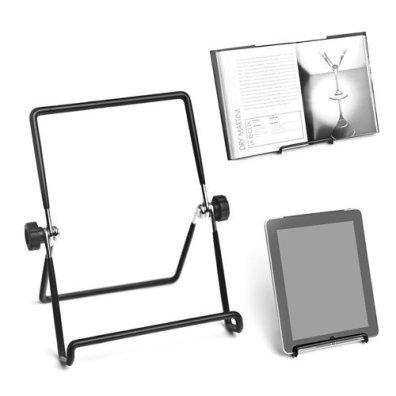Il più economico e minimalista. Un semplice leggio per iPad, tablet e ricettari vari. Su Amazon.it