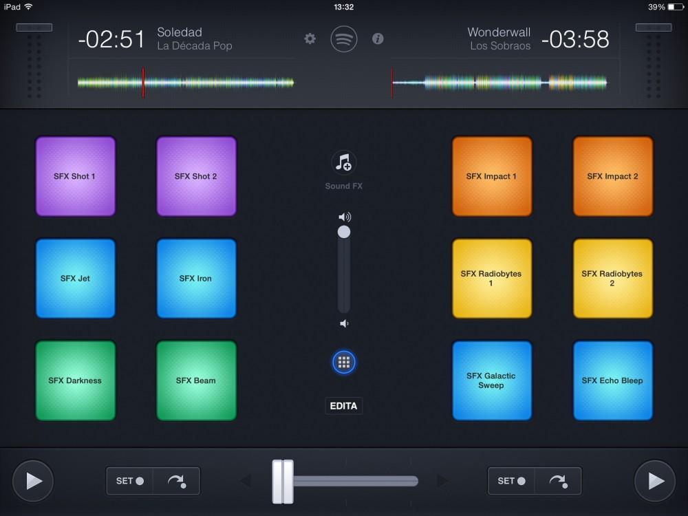 Djay 2 - Divertiti ad aggiungere effetti speciali ai tuoi mix