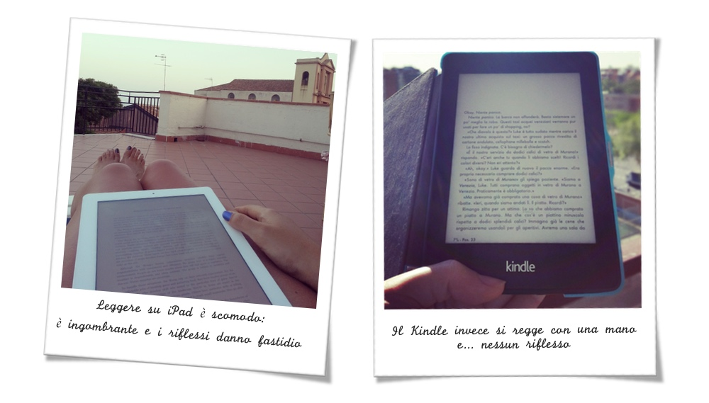 Differenze tra leggere su iPad e su Kindle