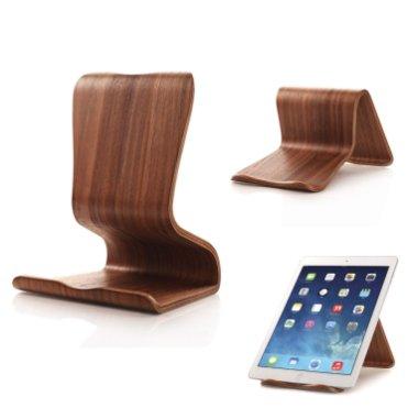Supporto per iPad in legno