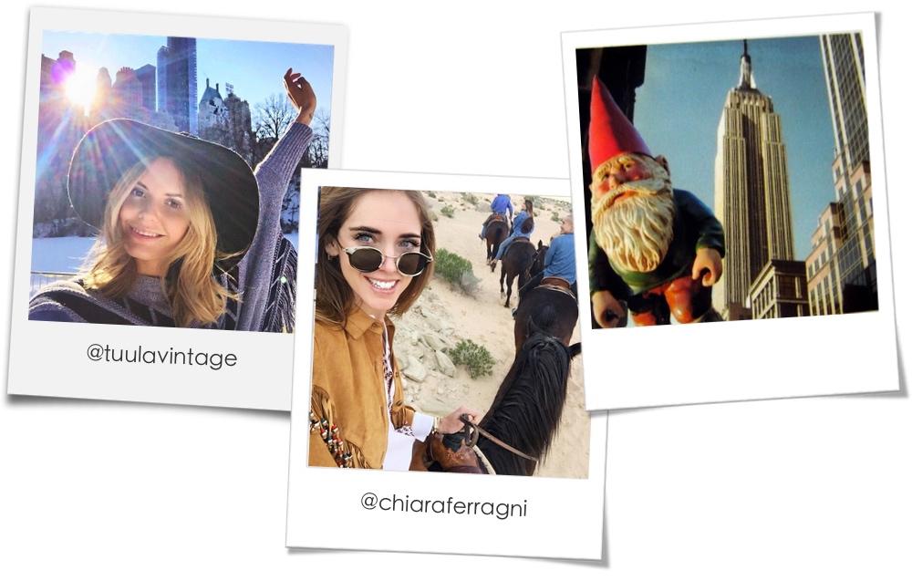 Selfie perfetti: lo sfondo