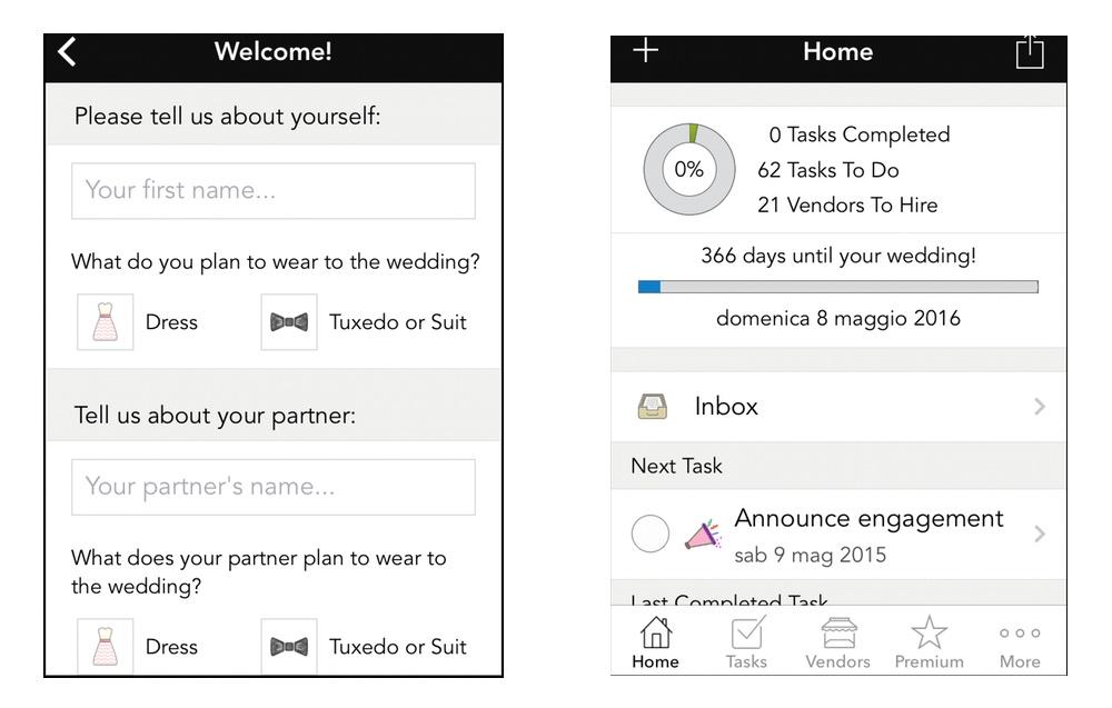 WeddingHappy: la lista automatica di cose da fare prima del matrimonio, giorno per giorno