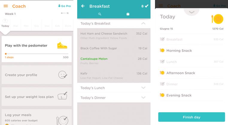 Noom Coach: l'app che ti insegna a mangiare più frutta e verdura