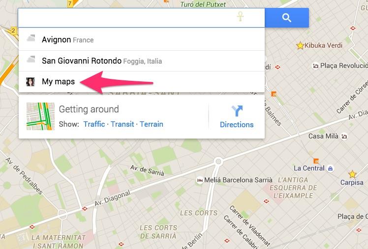Come accedere a Google My Maps
