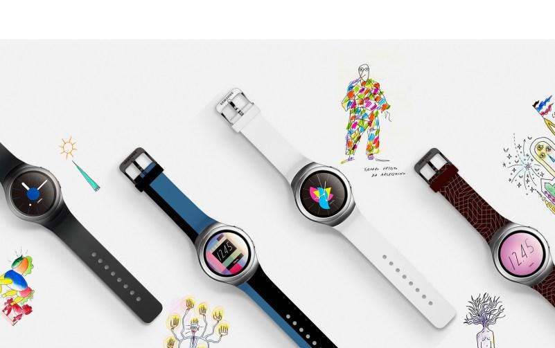 La collezione di accessori per Samsung Gear S2 firmata Alessandro Mendini: cinturini e Watch Faces a tiratura limitata