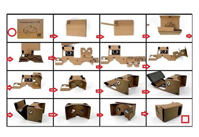Come montare Google Cardboard