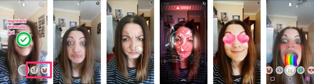 Come attivare gli effetti 3D di Snapchat