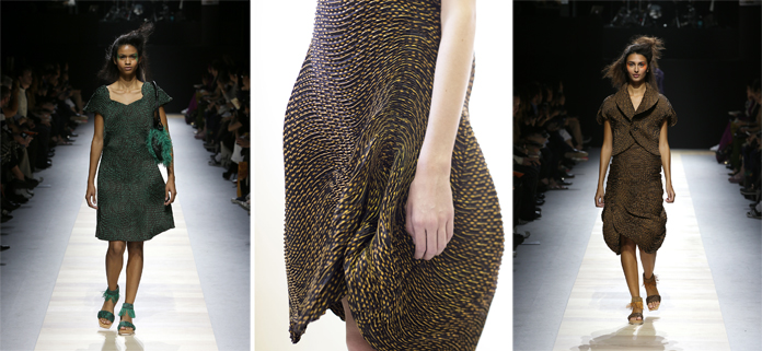 3D Steamed Stretch by Issey Miyake