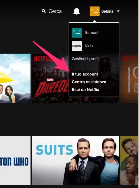 Netflix: come accedere al tuo account
