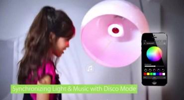 Awox Strimlight WiFi Color: la lampadina multicolore musicale