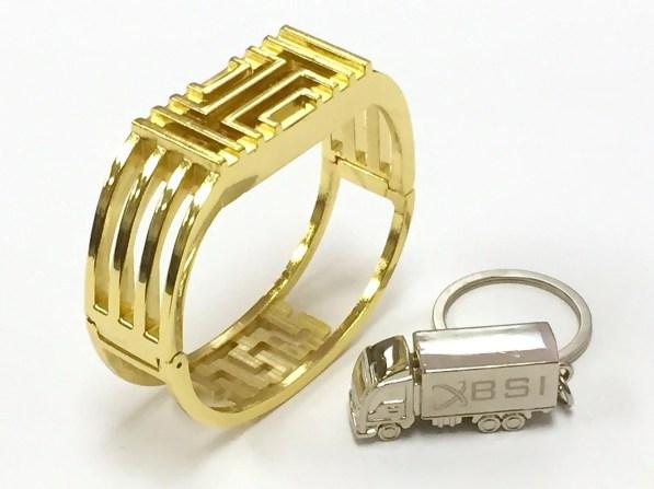 Elegante bracciale di metallo per Fitbit