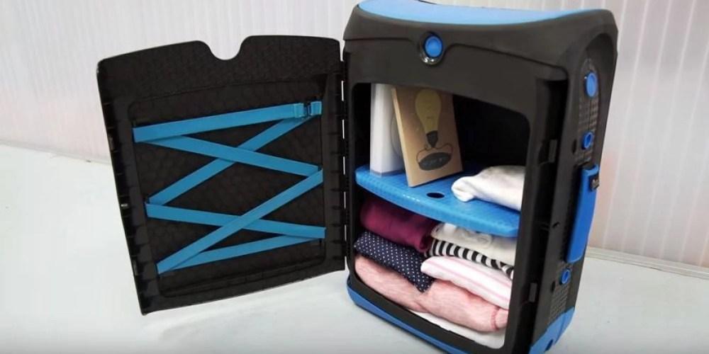 La valigia che sembra un armadio