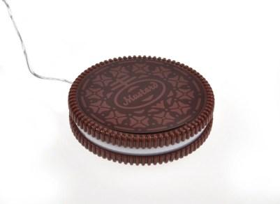 Scaldatazza USB a forma di biscotto