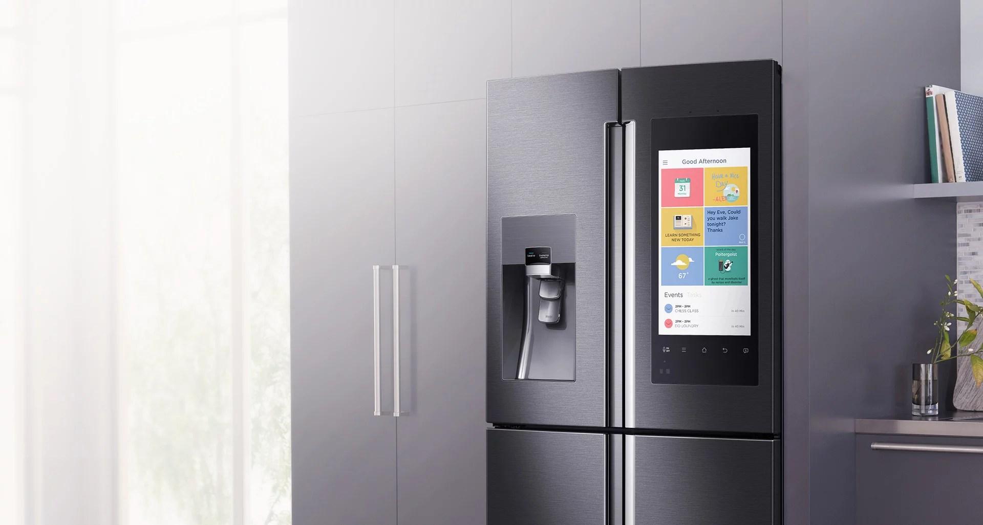 Samsung Family Hub: il frigorifero smart arriva in Italia | Geek è Chic