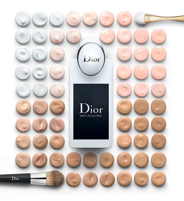 Dior Skin Analyzer