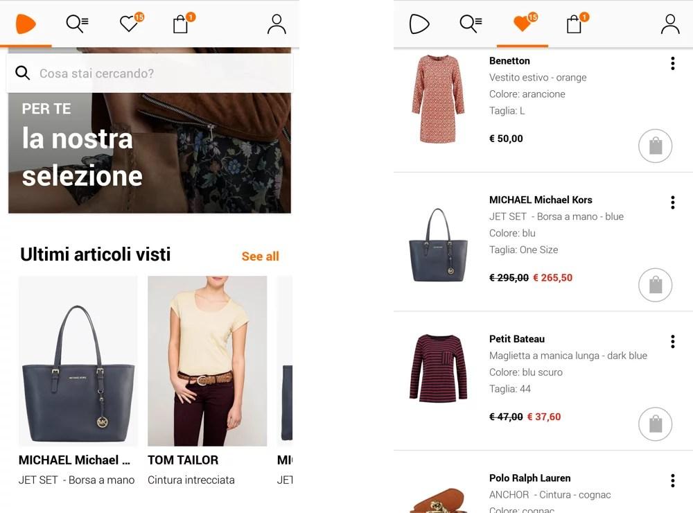 68f95e8af017 L'app di Zalando impara dai tuoi gusti con il tempo e ti propone marche e  capi di abbigliamento, in base alle ricerche e preferenze: ti permette di  seguire ...