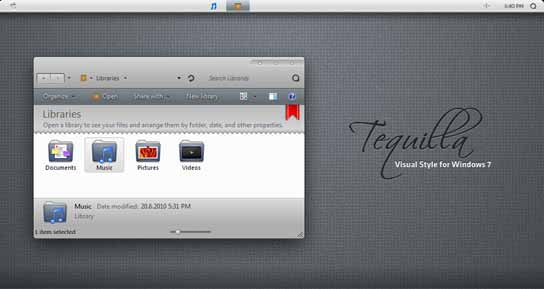 Tequilla window 7 theme