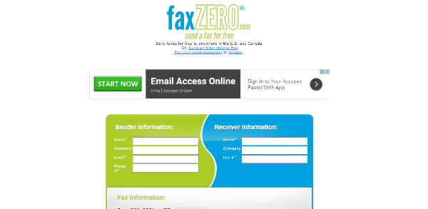 online fax to email services