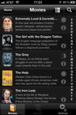 Plex app for iPhone - stream videos