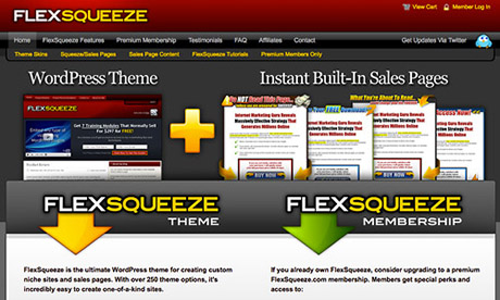 FlexSqueeze Review 2016 – Top Rated WordPress Themes