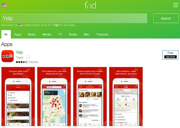mobile search engines