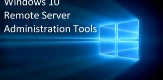 Windows Server Administration Tools