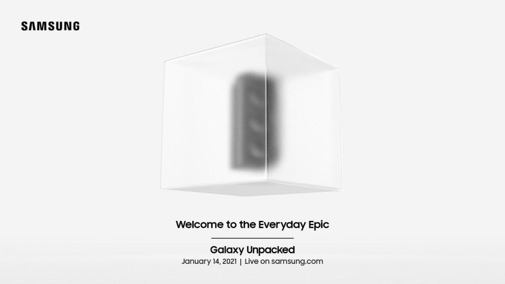 Invitation Galaxy Unpacked 2021