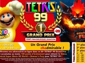 Tetris 99 x 3D World