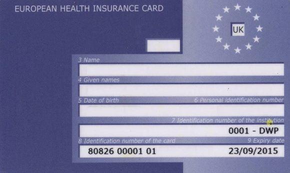 Image Result For European Health Insurance Card Renewal Uk