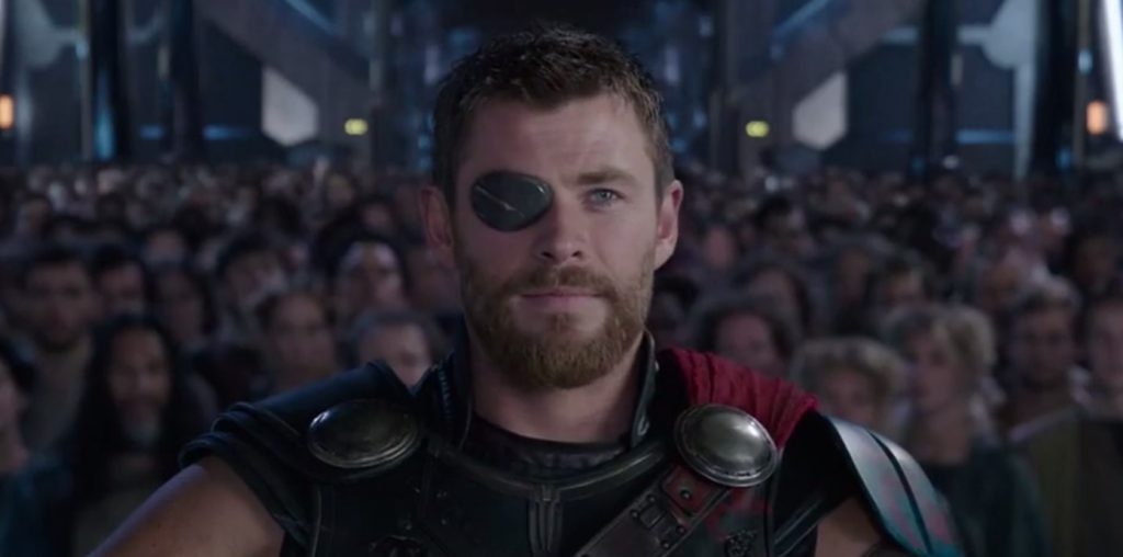 Avengers Infinity War Poster Has Thor With Both Eyes