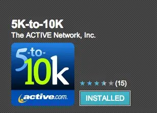 Active 5k to 10k Android App