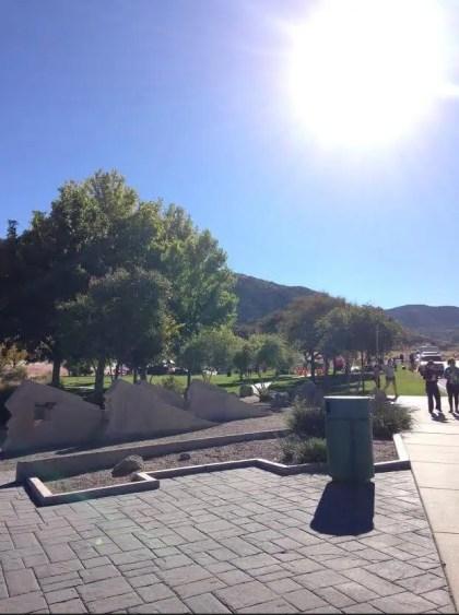 Sandia Mountain Shadows 10k 7