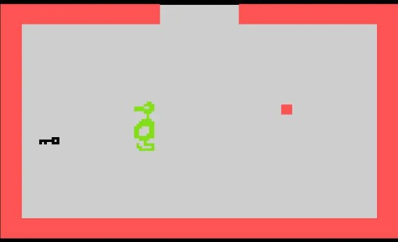 Atari 2600 Adventure Dragon