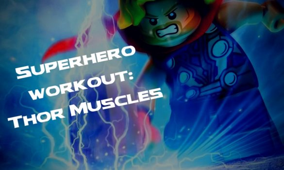 30 minute superhero workout: get Thor muscles