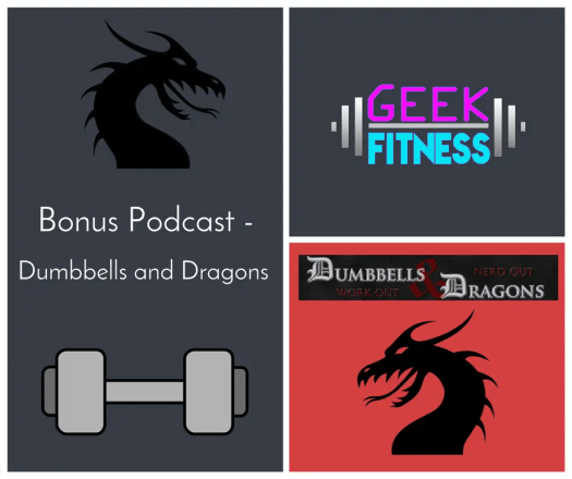 Bonus Podcast – My guest spot on Dumbbells & Dragons