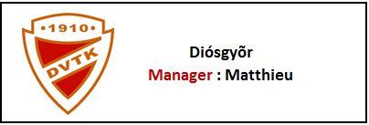 Diosgyor - Matthieu