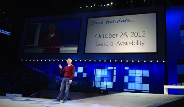 Windows 8 a la venta