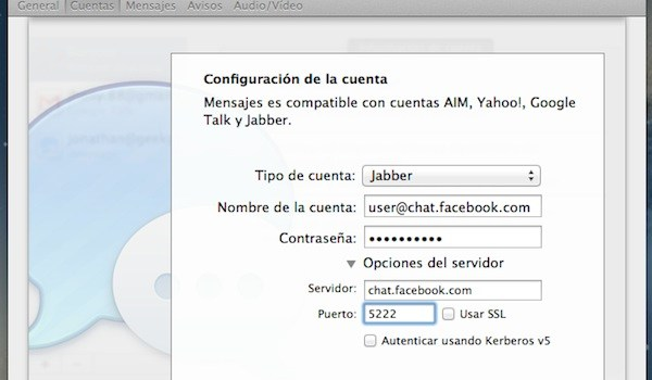 Mountain Lion - chat Facebook