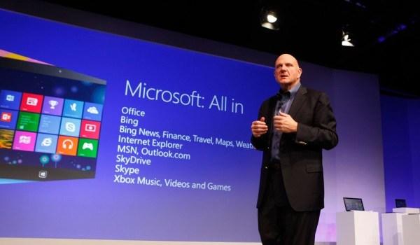 Anuncio Oficial Windows 8