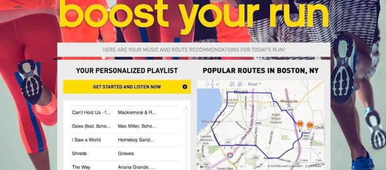 Boost your run - Adidas - Spotify