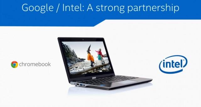 Chromebooks e Intel