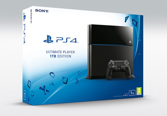 Un nuevo PS4 con 1TB