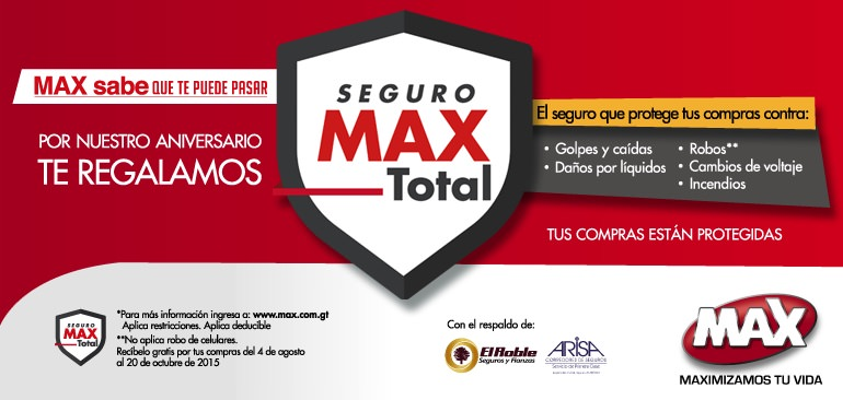Seguro MAX total