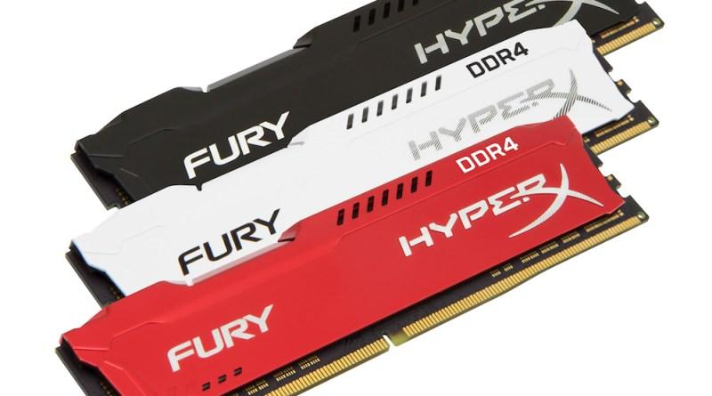 HyperX DDR4 FURY