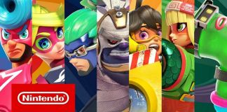 ARMS New Fighting Characters