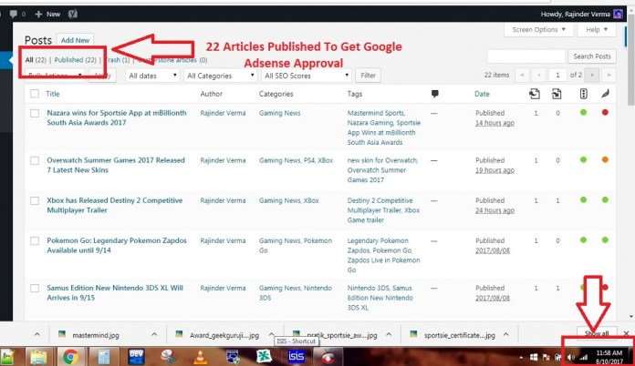 How to Get Google Adsense Approval in 1 minute-geekguruji33