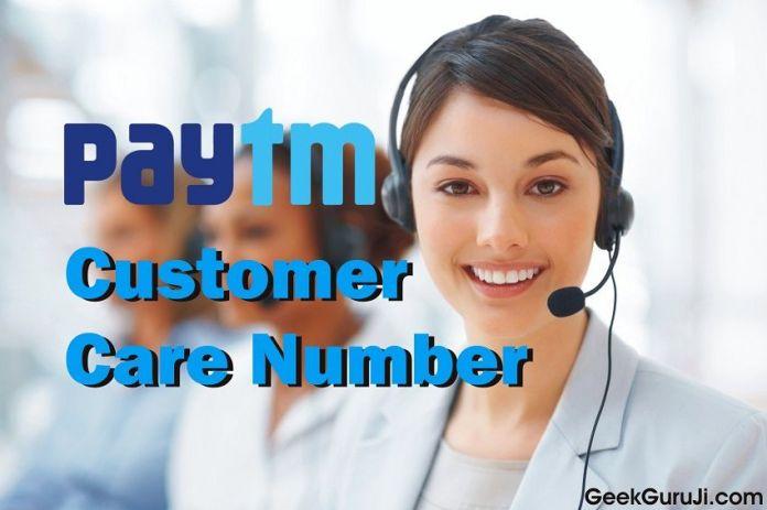 Paytm Customer Care Number