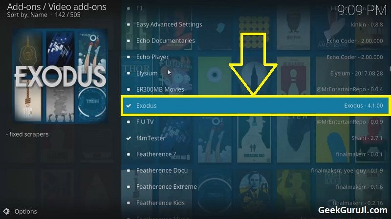 how to download new software kodi