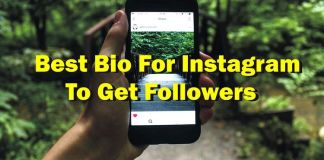 Best Bio for Instagram to Get Followers