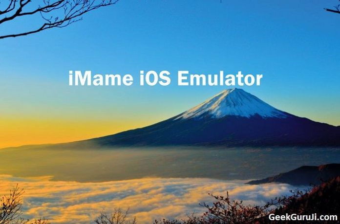 iMame iOS Emulator Windows PC